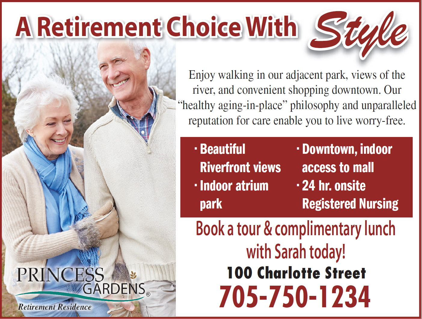 retirement option with style